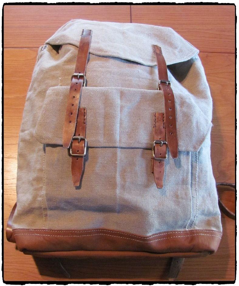 Kj ' -  vintage rucksack